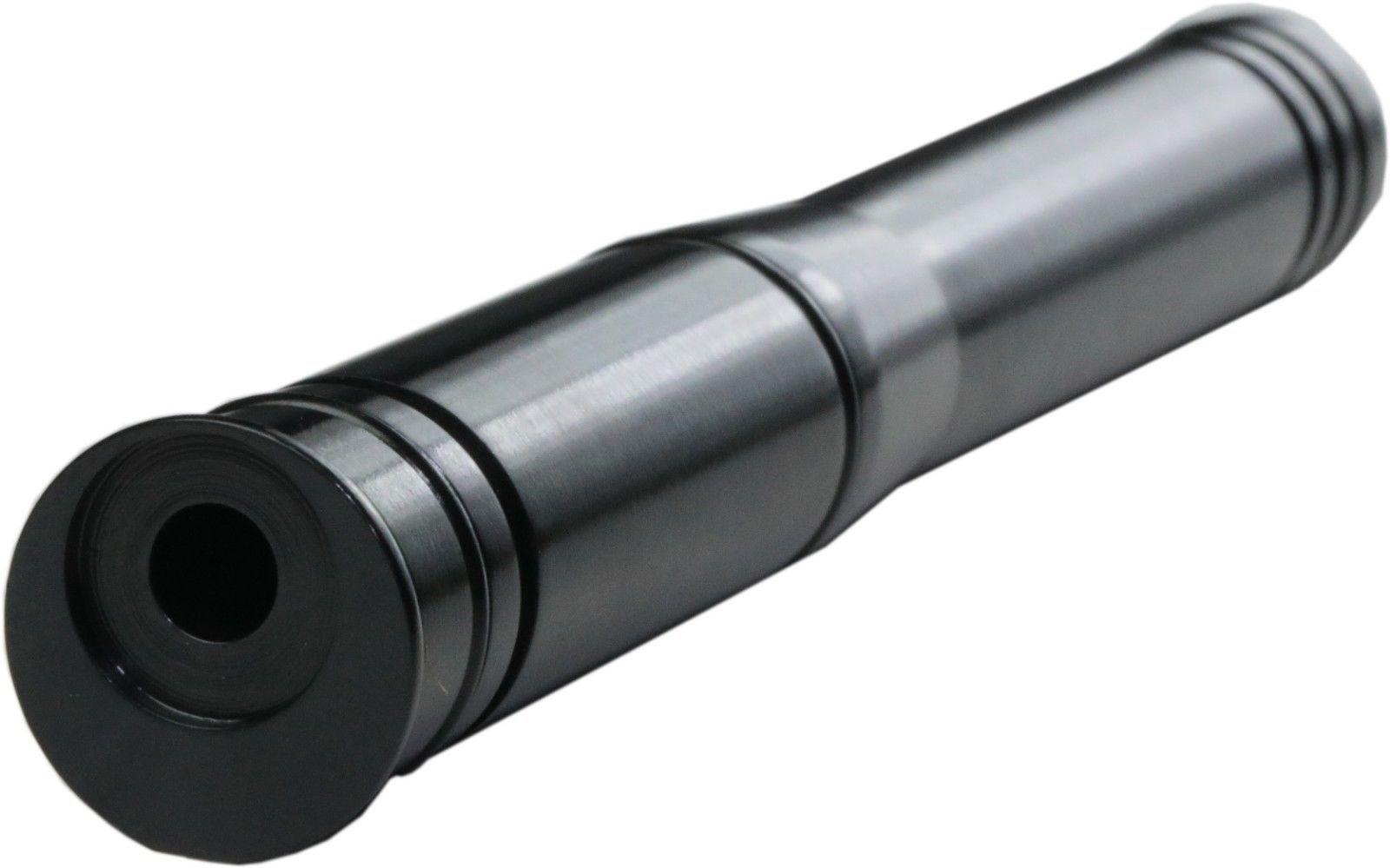 20 Gauge to 22 Long Rifle RIFLED Shotgun Adapter Long Black Oxide